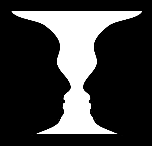 Two Faces or a Vase